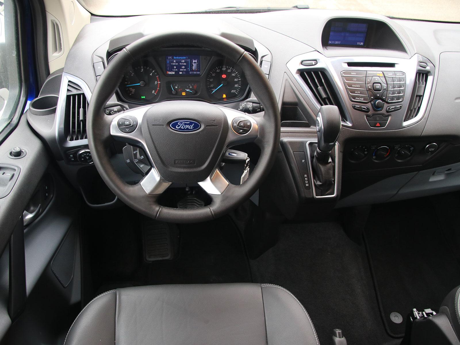 Ford Tourneo Custom 2 0 Tdci 170 Ps At Sport Testbericht Autoguru At