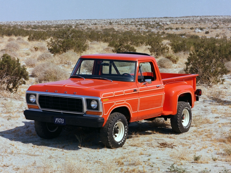 1978 Ford F100 (c) Ford