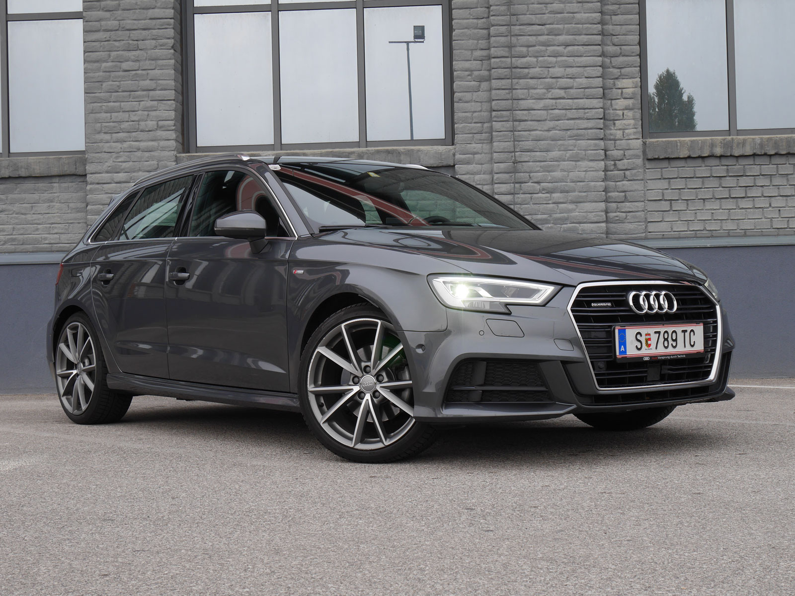 audi a3 sportback 2 0 tdi quattro testbericht. Black Bedroom Furniture Sets. Home Design Ideas