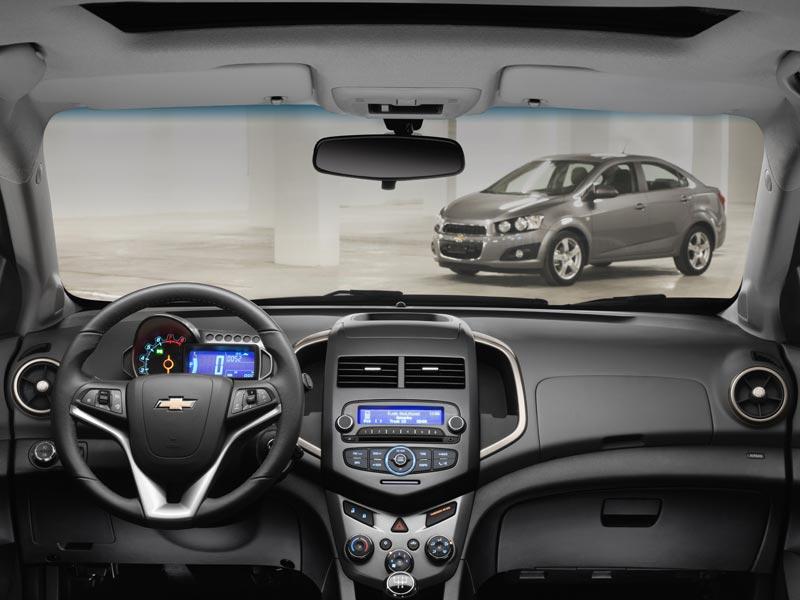 Chevrolet Aveo знакомится с Европой …