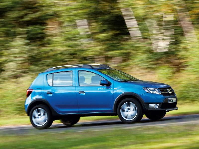 Фотографии Dacia Sandero Stepway…