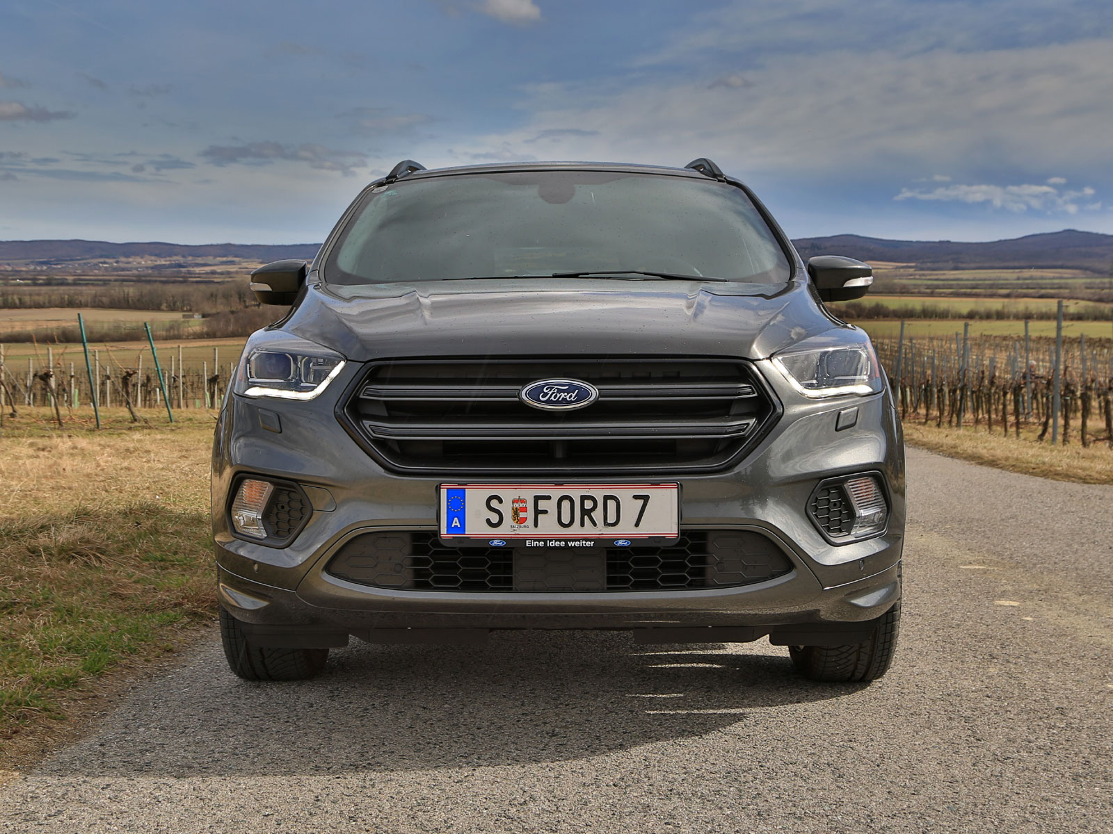 ford kuga 2 0 tdci 150 ps at awd st line testbericht. Black Bedroom Furniture Sets. Home Design Ideas