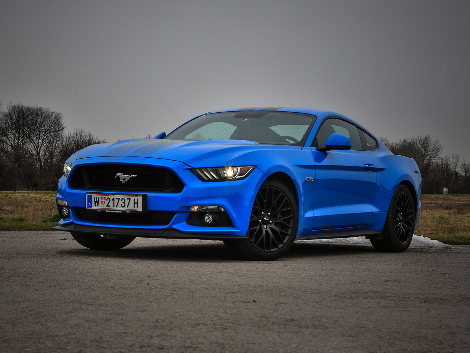 ford mustang fastback 5 0 gt blue edition testbericht. Black Bedroom Furniture Sets. Home Design Ideas