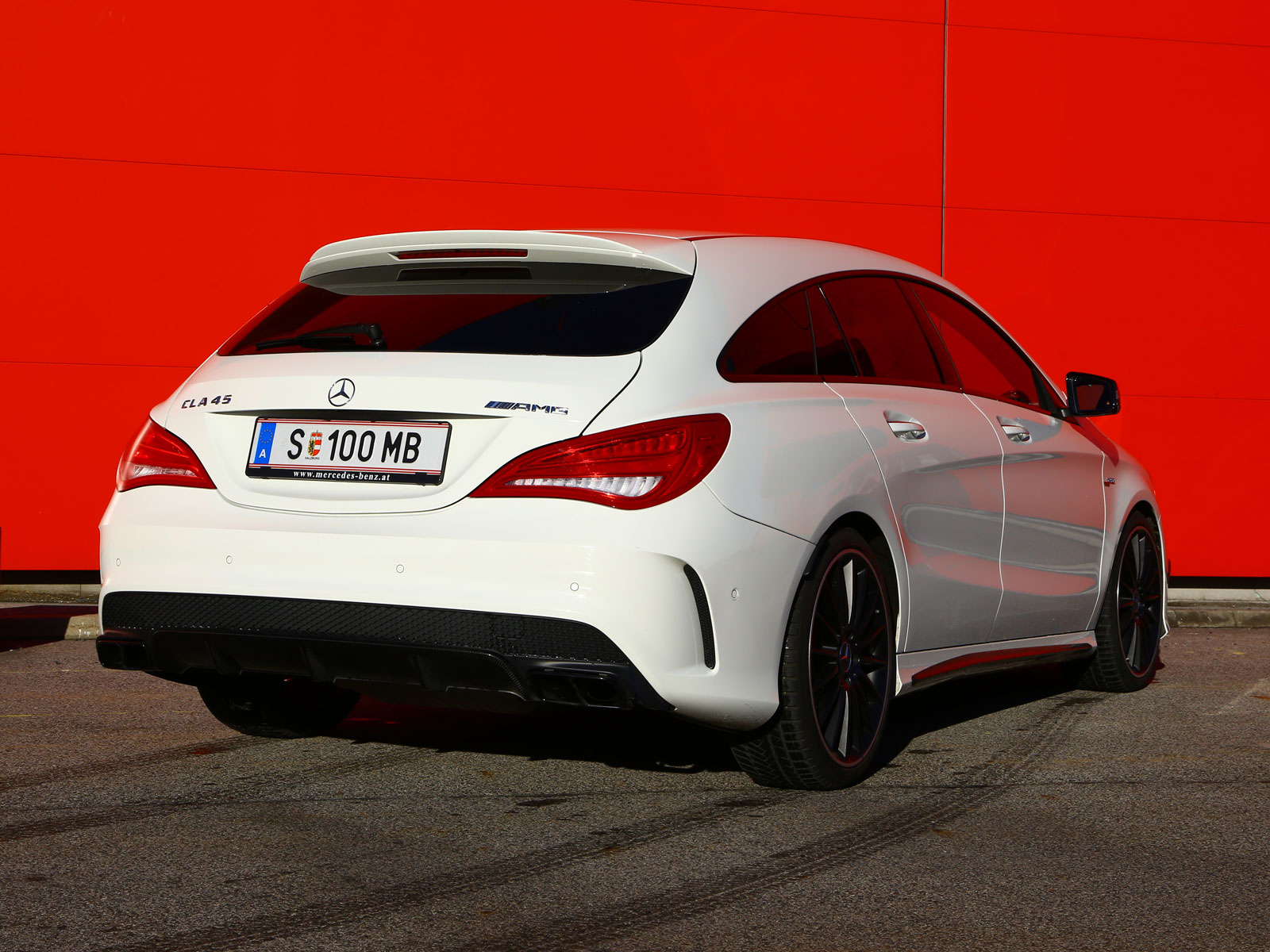 mercedes cla 45 amg 4matic shooting brake testbericht. Black Bedroom Furniture Sets. Home Design Ideas