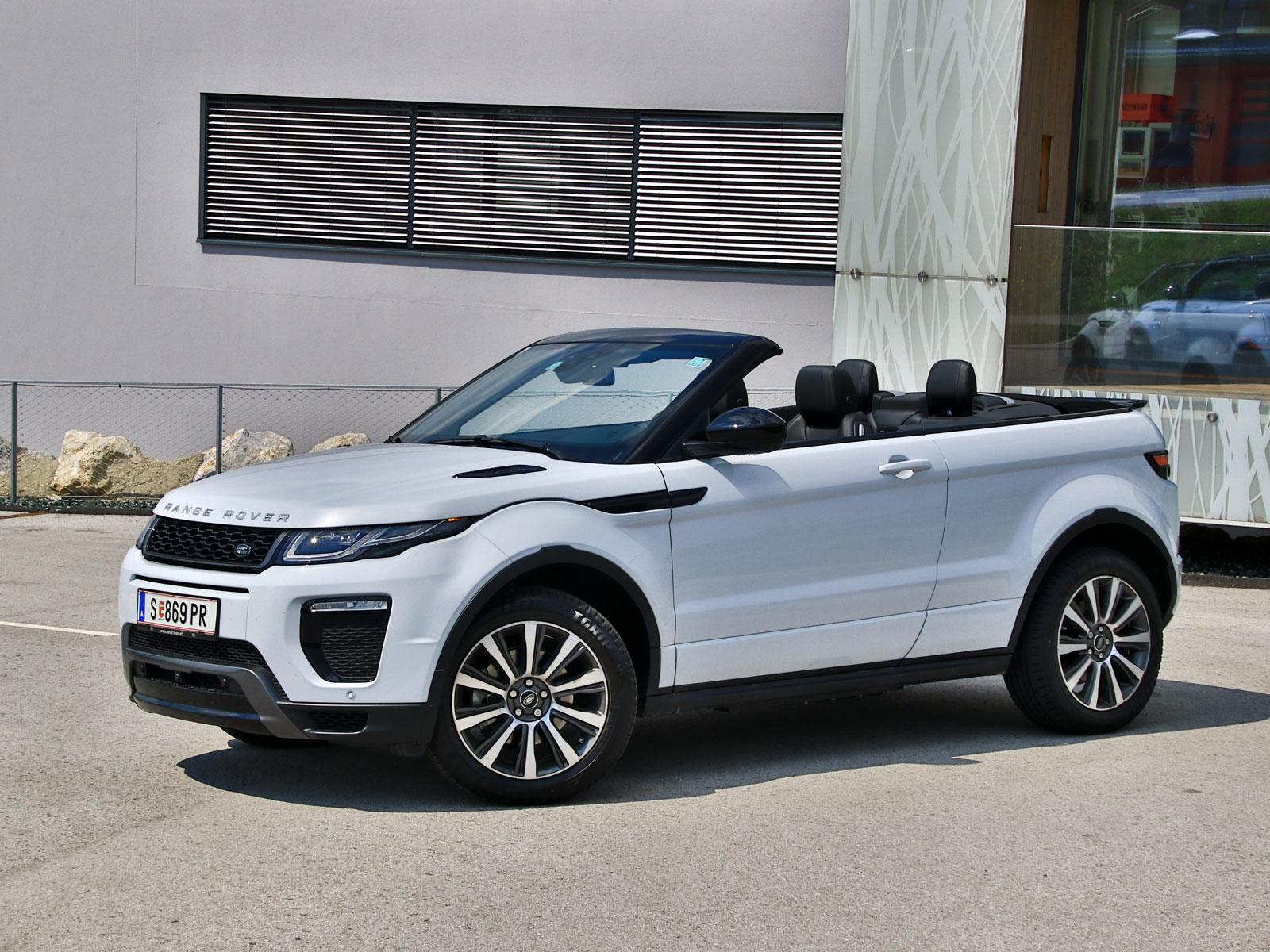 range rover evoque cabrio 2 0 td4 at hse dynamic. Black Bedroom Furniture Sets. Home Design Ideas