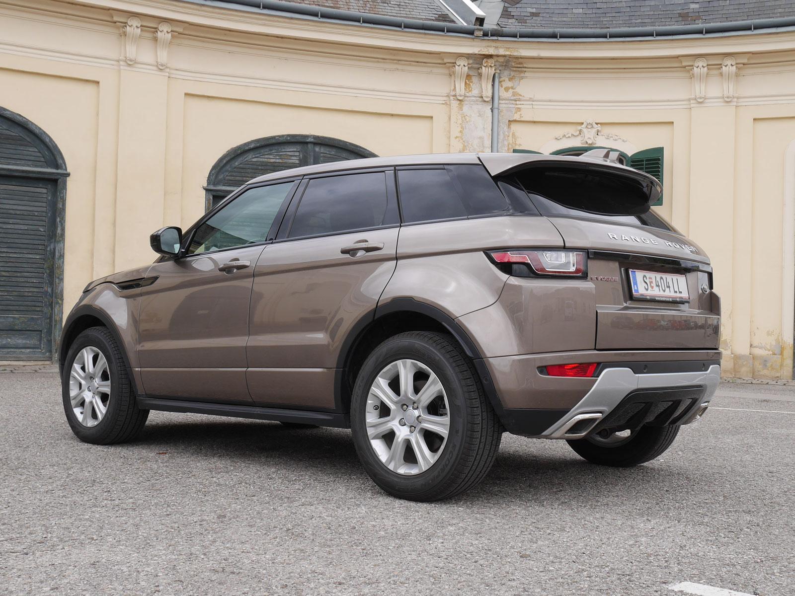 range rover evoque 2 0l td4 aut se dynamic testbericht. Black Bedroom Furniture Sets. Home Design Ideas