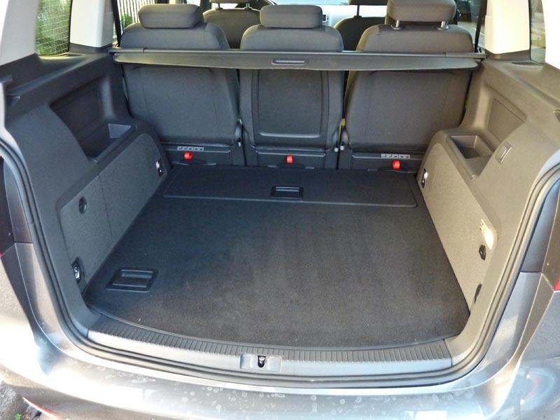größe kofferraum sharan