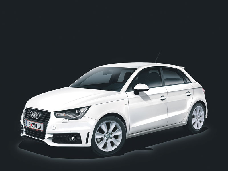sondermodell audi a1 sportback beauty beast. Black Bedroom Furniture Sets. Home Design Ideas
