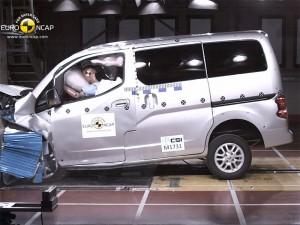 Auch nur 3 Sterne für den Nissan Evalia (c) ÖAMTC