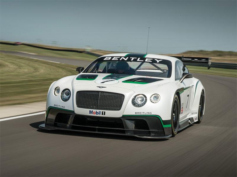 99. Bentley Continental GT3.  Фото…