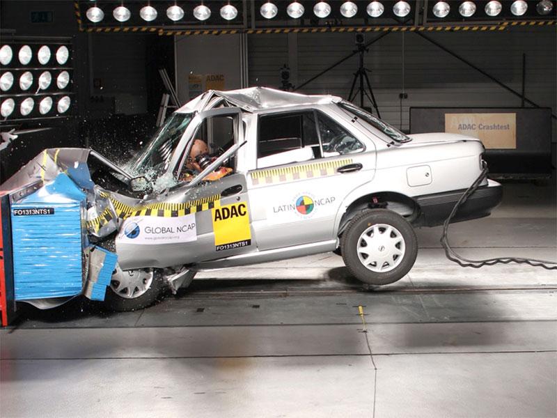 Ernüchterne Crashtest-Ergebnisse in Südamerika – AutoGuru.at