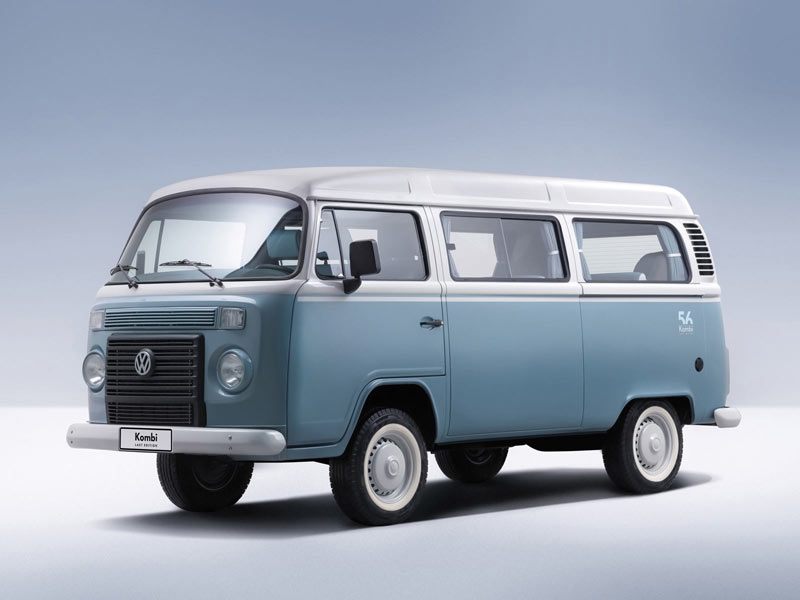 VW Brasilien startet Last Edition des Kombi