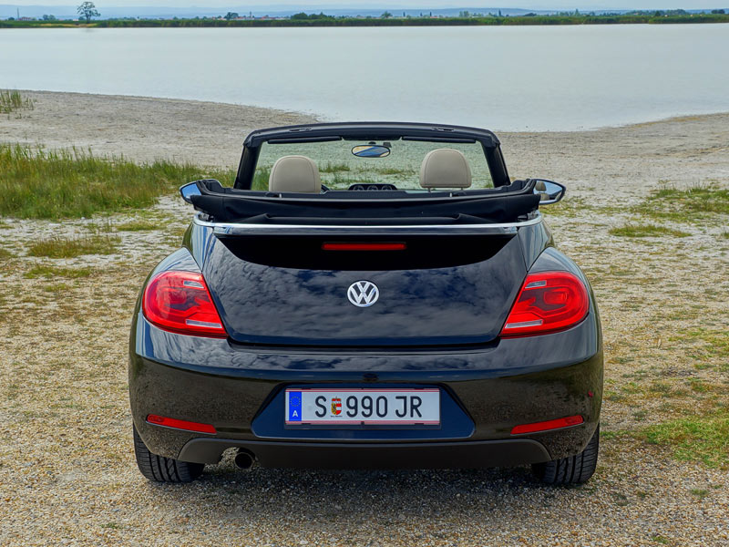 vw the beetle cabrio 50s 1 6 tdi testbericht. Black Bedroom Furniture Sets. Home Design Ideas