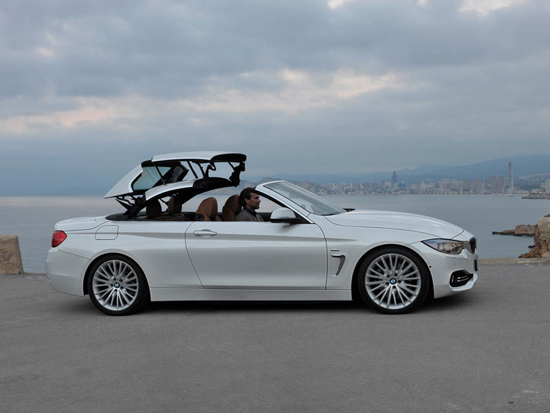 premiere f r das bmw 4er cabrio. Black Bedroom Furniture Sets. Home Design Ideas