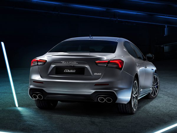 Maserati Ghibli Hybrid Heck