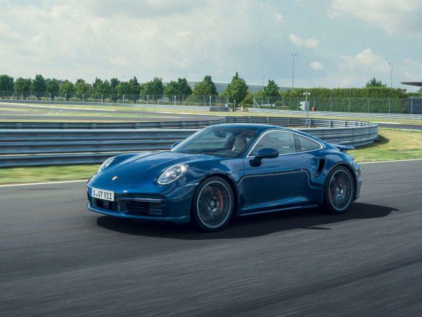 Porsche 911 Turbo Front