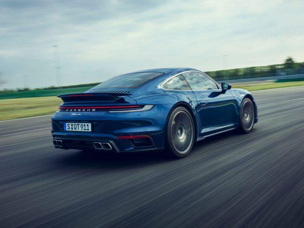 Porsche 911 Turbo Heck