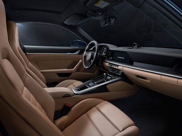 Porsche 911 Turbo Innen