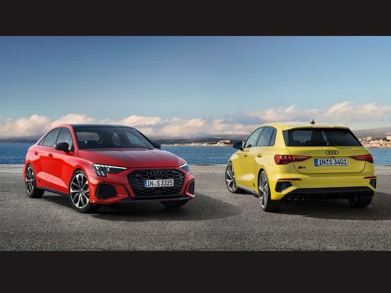 Die neuen Audi S3-Modelle