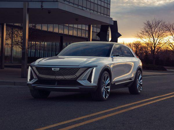 Cadillac LYRIQ Front