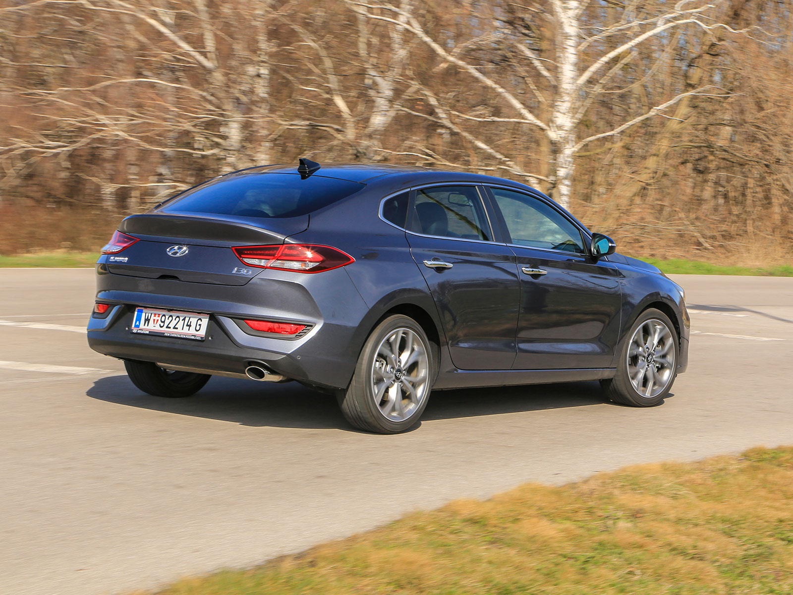 Hyundai i30 Fastback Style 1,4 T-GDI DCT -Test