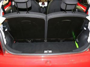 Peugeot 108 Kofferraum