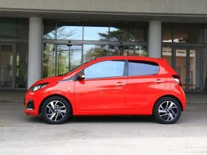 Peugeot 108 Seitenansicht