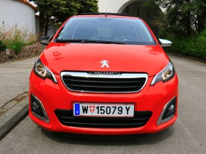 Peugeot 108 Front