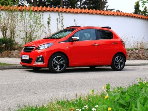 Peugeot 108 Seite
