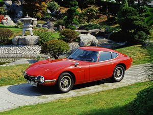 Toyota 2000 GT Front