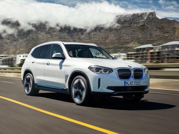 BMW iX3 Front