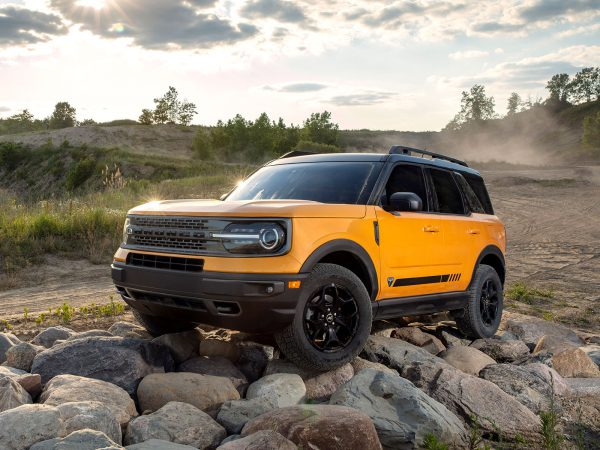 Ford Bronco Sport Front
