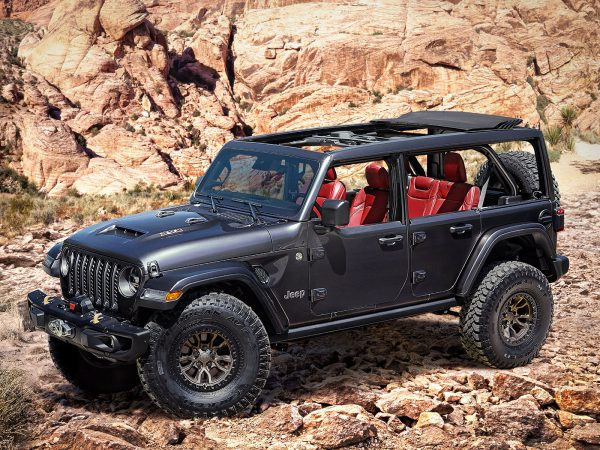 Jeep Wrangler Rubicon 392 Concept Front