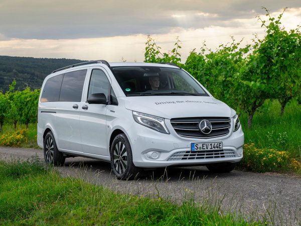 Mercedes eVito Tourer Front