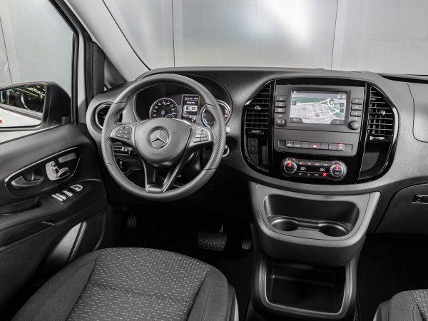 Mercedes eVito Tourer Innen