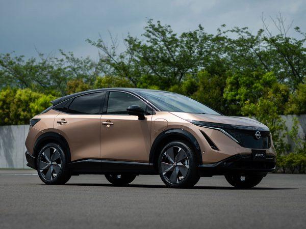 Nissan Ariya als 2WD und 4WD