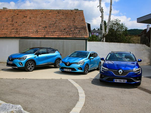 Renault E-TECH-Modelle