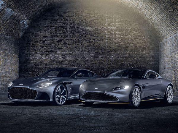 Aston Martin DSB Superleggera und Vantage 007 Edition