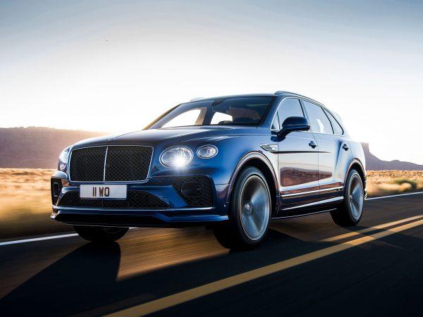 Bentley Bentayga Speed Front