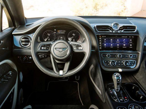 Bentley Bentayga Speed Innen