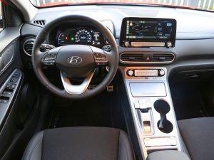 Hyundai Kona Elektro Innen