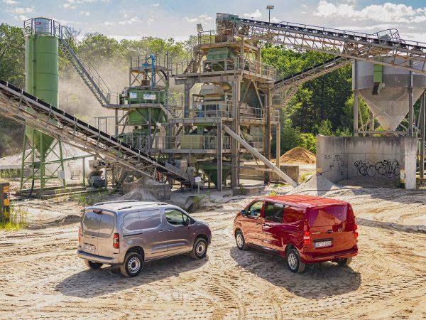 Opel Combo und Vivaro 4x4