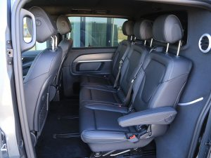Mercedes V 300 d 4Matic Innenraum