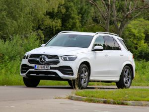Mercedes GLE 350 d 4Matic Front