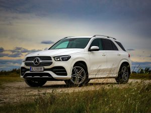 Mercedes GLE 350 d 4Matic Front