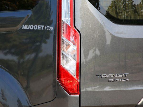 Ford Transit Custom Nugget Plus Heck