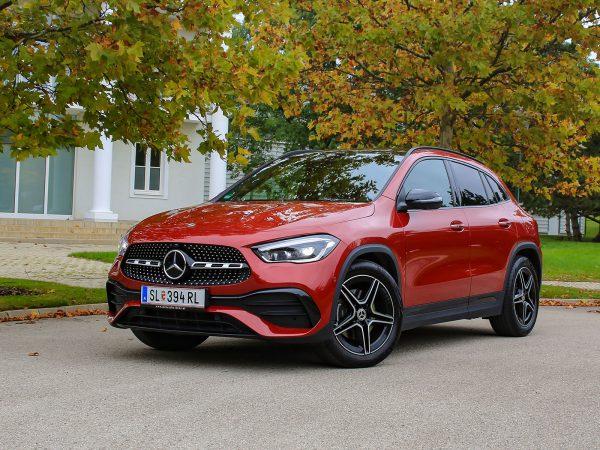 Mercedes GLA Front