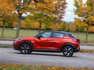 Nissan Juke Seite
