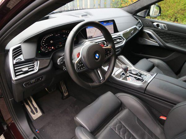 BMW X6 M Competition Innen