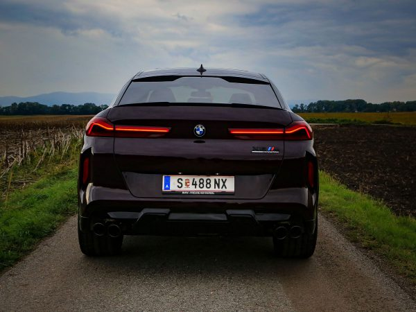 BMW X6 M Competition Heck